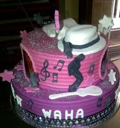 Michael Jackson Party Cake