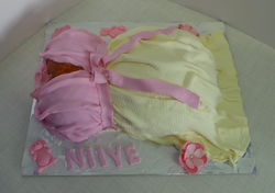 Belly Baby-shower Cake