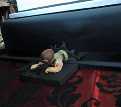 GTA 5 fondant figurine