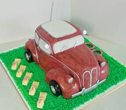 Old Timer Birthday Cake