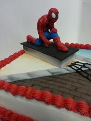 Fondant Spiderman Cake Topper