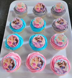 Barbie and the Rock Star Cupcakes