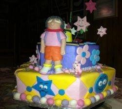 Dora - 2 tier cake
