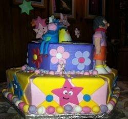 Dora - 2tier cake