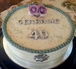 40th Birthday easy cake