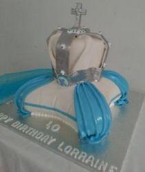 40th Religious themed Birthdaycake