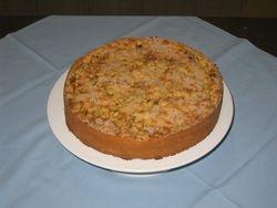 Applecrumble cake