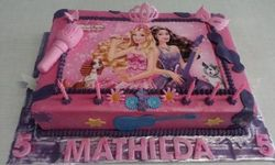 Popstars themed cake