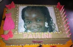 Edible print foto - Pauline