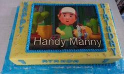 Handy Manny themed cake