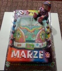 Hippie themed Cake for girl