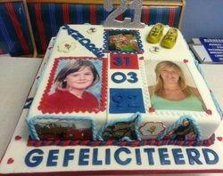 Holland themed 21st birthday cake
