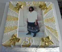40x40 sized birthday cake