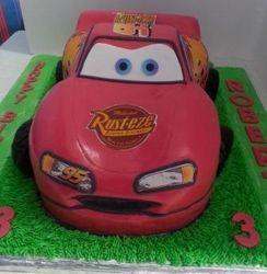 Cars - novelty cake