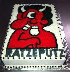 Ratzeputz themed cake