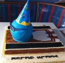 Ten Pin Bowling 9th Birthday Cake