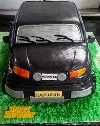 FJ themed Toyota car cake