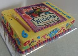 Wizard of Waverley themed cake