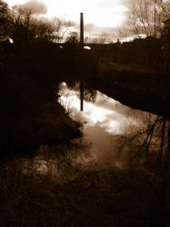 Evening on the Dodder 1990s