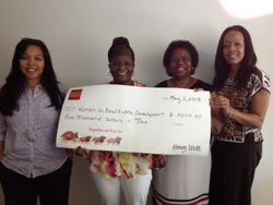 Wells Fargo $5,000 Check