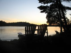 Muskoka Chairs Twilight