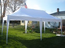 NEW White 10 x 20 Pop up Tents