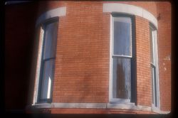 Curved Window Reproduction circa 1870 15 Logan Circle