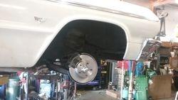 1964 impala SS disc brake conversion