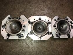 1996 XLT 600 Cylinder Heads