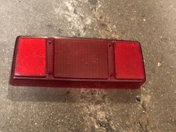 1996 ZR 580 Tail light cover