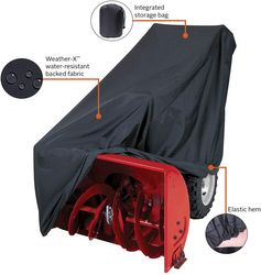 New Classic Accessories Two Stage Snow Thrower Cover