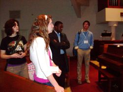 Visit to Grace Lutheran Church