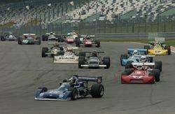 Nurburgring: The European F2 race start