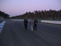 Hockenheim: evening track walk
