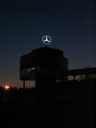Hockenheim: Mercedes tribune
