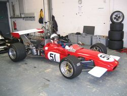 Silverstone Classic: Mark gets ready