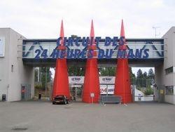 Le Mans: entrance