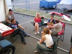 Le Mans: Socialising