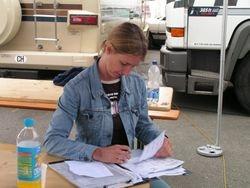 Nurburgring: paperwork