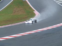 Spa: A wet Eau Rouge