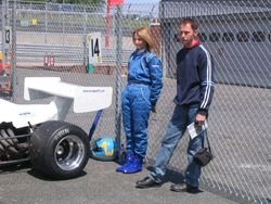 Amanda & Rob at Brands Hatch