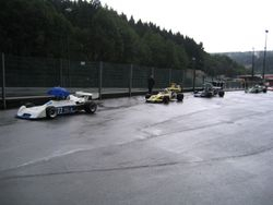 Spa-Francorchamps: A wet start