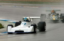 Hockenheim: Slicks in the wet!