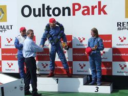 Oulton Park Gold Cup: The Podium