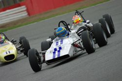 Silverstone final HSCC Formula Ford race 2009