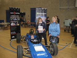 Go Motorsport visit to George Stephenson School Killingworth