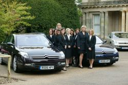 The girls on Citroen C6 launch