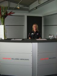 McLaren F1 Team Hostess
