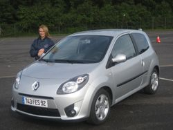 Renault Twingo launch Donington