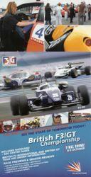 Amanda in British F3 / GT brochure